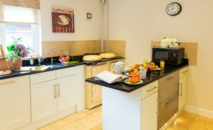 Cockercombe - A modern, well equipped kitchen with all mod cons