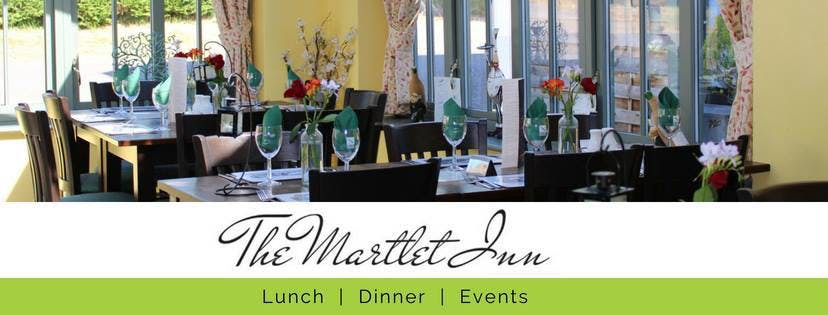 The Martlet Inn's conservatory