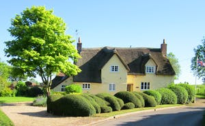 Halse Water House - This lovely period thatched house enjoys an idyllic location on the edge of a small Somerset village.