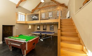 Pitsworthy: Across the yard there's an amazing games room