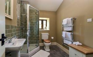 Pitsworthy - Off the games room is the en suite shower room for Bedroom 6