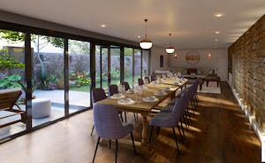 Pigertons - A glass walled living space sets the scene for big and happy holidays