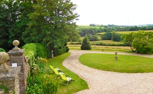 Berry House - There's a wonderful outlook over the Batherm Valley from the front of the house