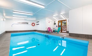 Lovely indoor swimming swimming pool