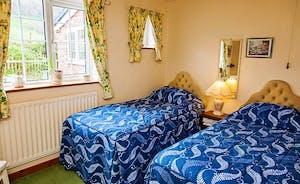 Pretty Clematis bedroom