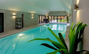 Kingshay Barton - Centre stage in the spa hall is the swimming pool - all yours throughout your stay!
