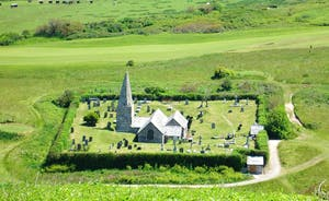St Enodoc Sunken Church