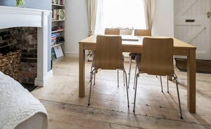 Dining area in Teachers Cottage