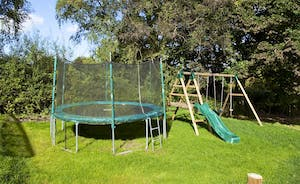 Flossy Brook - A safe and secure play area where the children can spend many happy hours