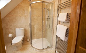 Crowcombe - En suite shower room for Bedroom 5