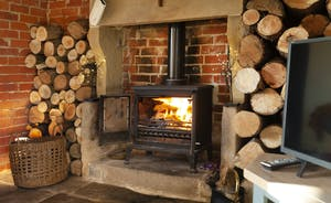 Easy to use, logs supplied; perfect for when you come back from an autumn walk