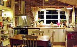 Amazingly well equipped kitchen say our guests!