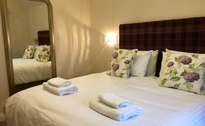 Foxhill Lodge - Bedroom 4: You ought to sleep well with all that fresh air and peace and quiet!