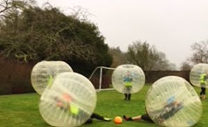 Bubble football Bristol at the Grange (2)