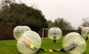 Bubble football Bristol at the Grange (2)