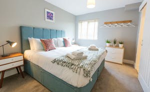 The Plough - Bedroom 9: Zip and link beds, so a superking or twins - it's up to you