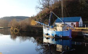Crinan Canal at Bellanoch