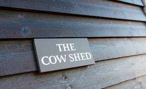 The Cowshed - Sign