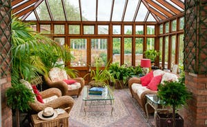Severn Manor - The Orangery has all the feel of a Victorian hot-house