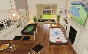 Pitmaston House - From Sept 2021: An amazing games room too!