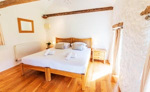 Whinchat Barns - Dippers Rest, Bedroom 2: A ground floor room that can have a superking or twin beds