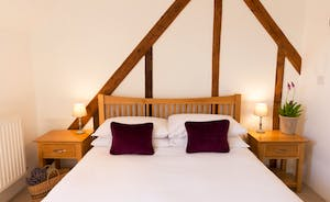 Pipits Retreat, Stonehayes Farm - Restful bedrooms and all that fresh air will help you to sleep well