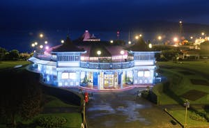 Rothesay Visitors Centre at night