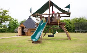 Ham Bottom - 2 acres of grounds and sturdy play equipment for the youngsters to let off steam!