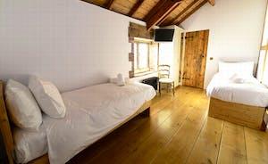 Bedroom 5 with en suite shower room
