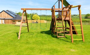 Shires - Play equipment for the little ones - Shires is so perfect for large group family holidays!