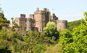 Dunster Castle is a famous National Trust Castle  with lots of see and do for adults and children alike