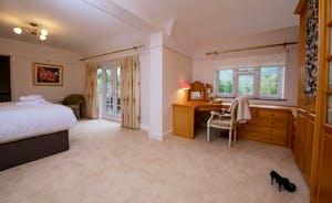 Garden Court - Bedroom 1 has a dressing area and an en suite bathroom