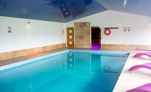 Fuzzy Orchard - The property has it's own private indoor heated swimming pool