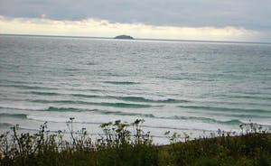 The Sea from Polzeath