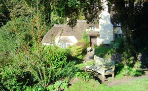Bossington Hall - Nearby you'll find chocolate box thatched Exmoor cottages
