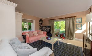Asham House - The snug in the attached Coach House doubles up as a playroom