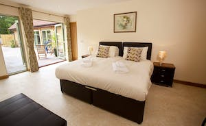 Crowcombe - Light and airy, Bedroom 1 is on the ground floor and has an en suite shower room