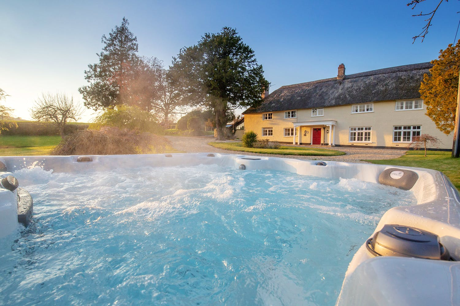 Big Holiday Cottages With Hot Tubs Holiday Ideas Group Stays