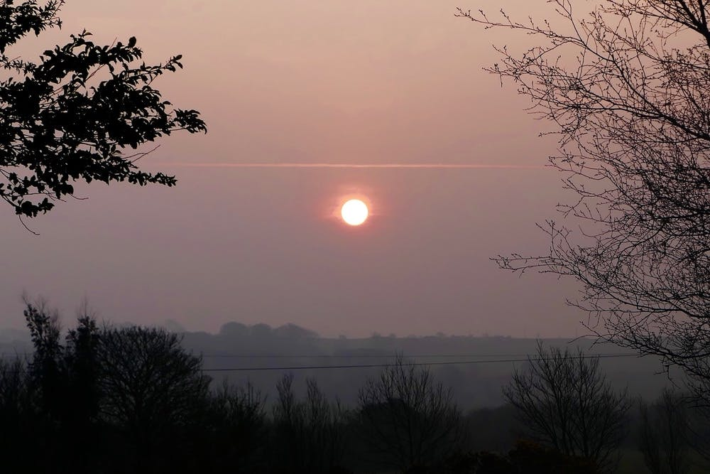 Morning sunrise at Anglesey