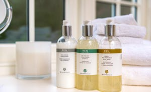 Pitsworthy: Luxury toiletries are provided for your stay