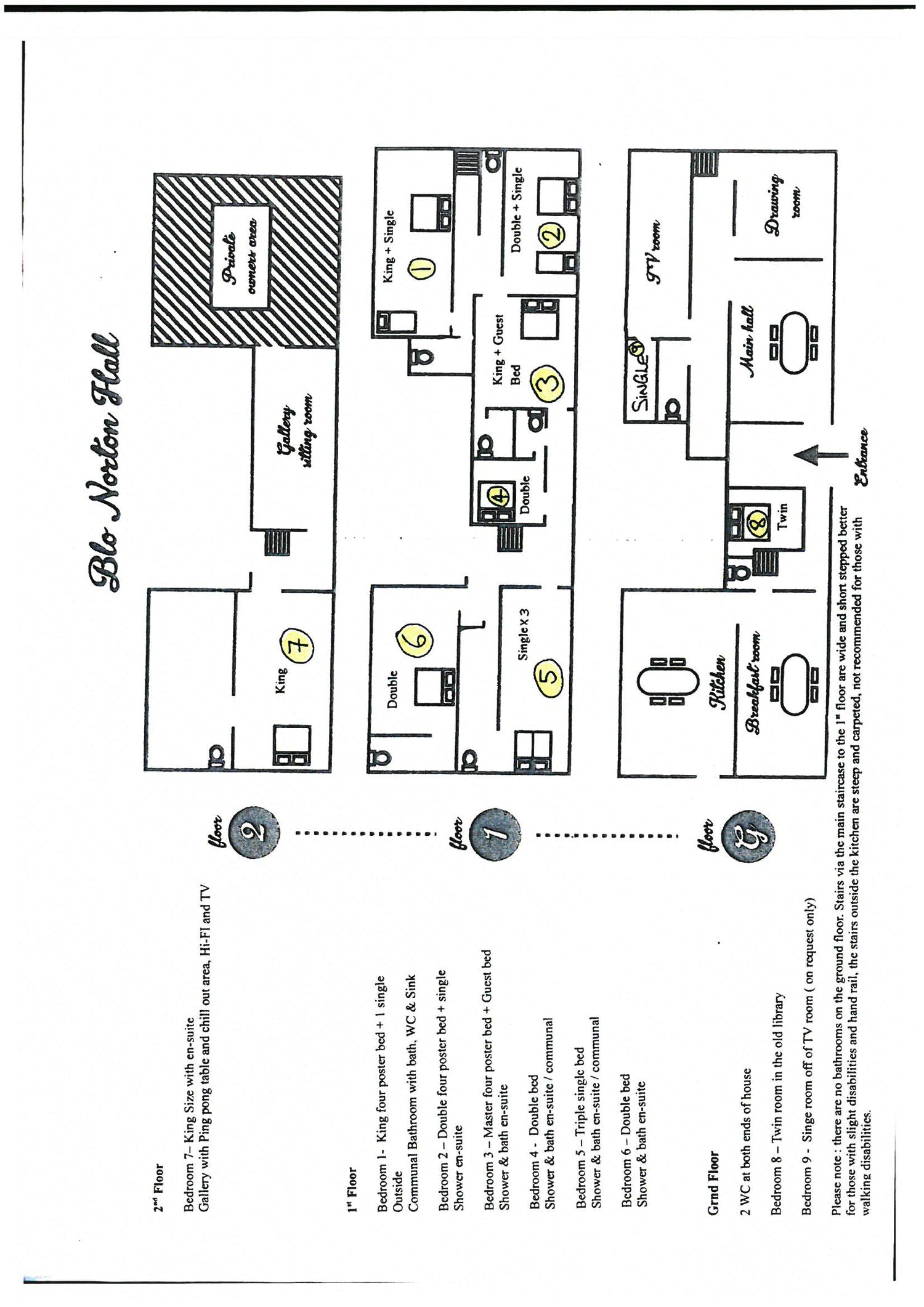 Floorplans Blo Norton Hall Norfolk Shortbreaks Com