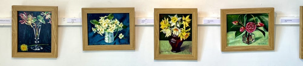 A few paintings of Tilly Willis' fabulous portfolio