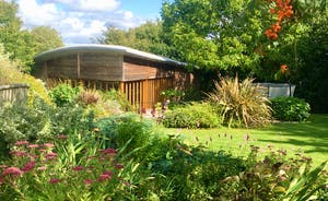 The Cottage Beyond: Just across the lawn from the house is the spa hall