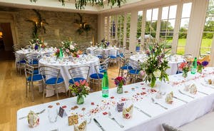 Wedding celebration in the Orangery
