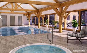 Croftview - The spa hall will be amazing, with a heated pool, sunken hot tub, and a sauna