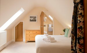 Foxcombe - The bedrooms have a crisp, modern feel - so restful