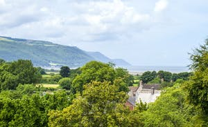 Bossington Hall - You'll have some of the most spectacular views on the whole of Exmoor