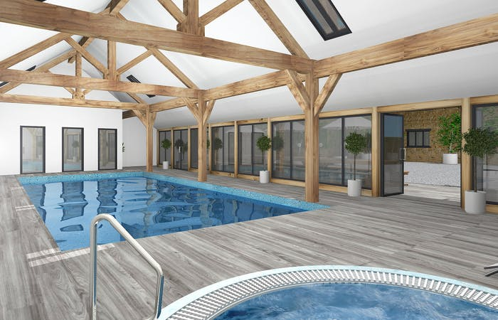 Somerset Barn Conversion with 13 en suite bedrooms sleeping up to 30 guests with private spa facilities