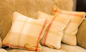 Lusciously plump cushions to fall into