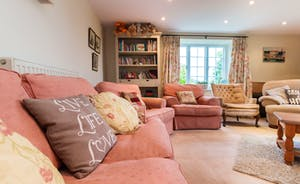 Television/Playroom/Family room with masses of Children's books, Puzzles & DVDs